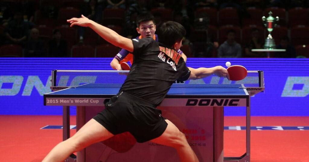 bois pour raquette de ping-pong