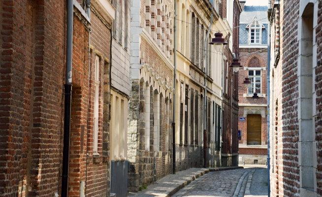 rue Coquerel Vieux-Lille